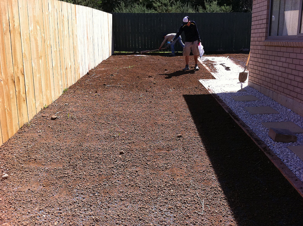 topsoil application