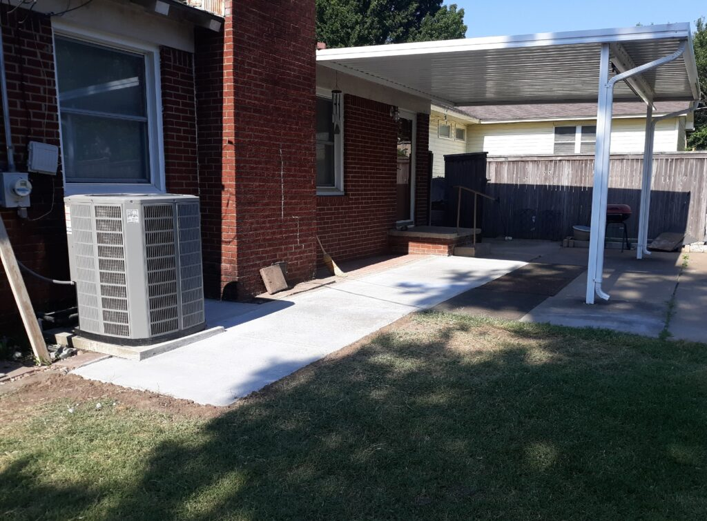 Backyard Patio Addition