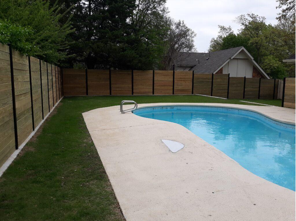 Backyard after renovation2