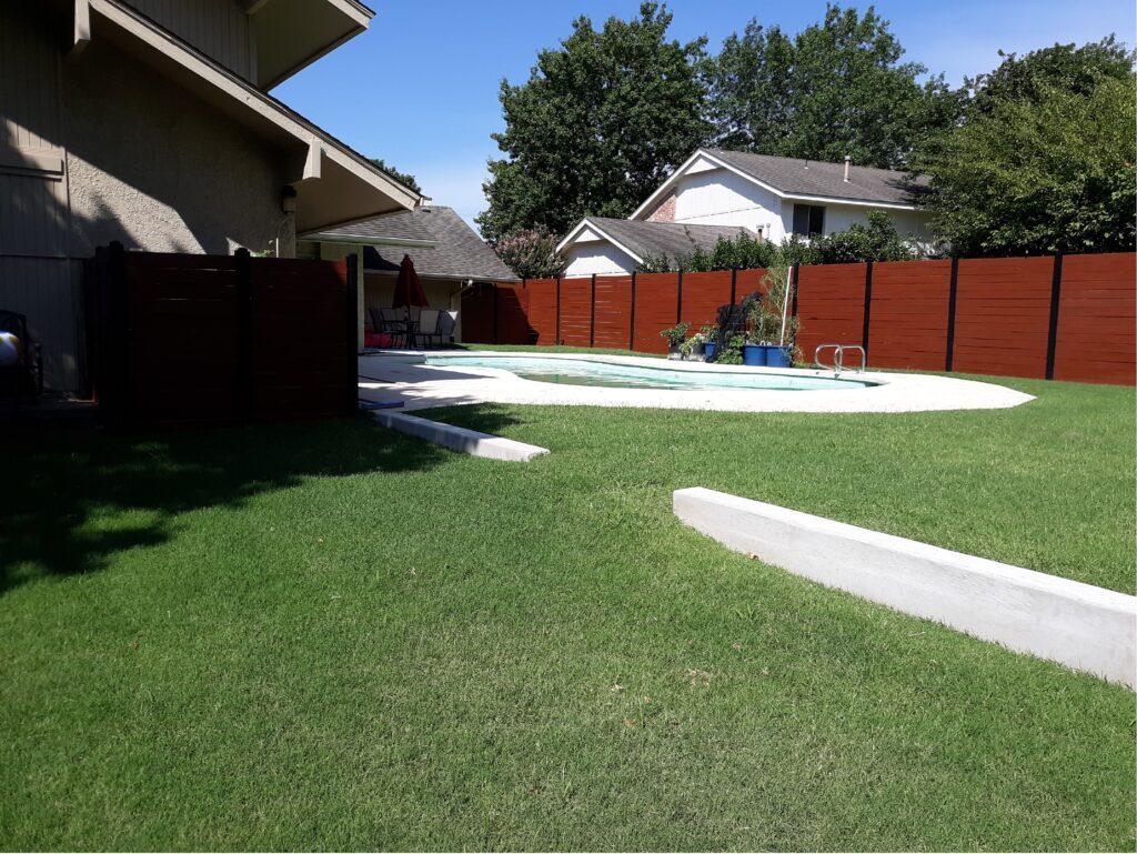 Backyard after renovation3